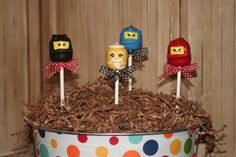 Dare I attempt to make these for the party? I have a feeling I will feel like a giant failure... but they are SO cute.
