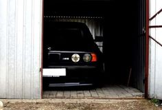 BMW M5, in the hangar  My favorite picture