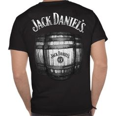 Jack Danieles Barrel Mens T-Shirt