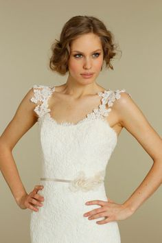 Close-Up View. Alvina Valenta Bridal Gowns, Wedding Dresses Style AV9209 by JLM Couture, Inc.