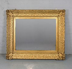 Large Gilt Mirror.
