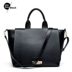 RoyaDong Women Bag Leather Handbags 2016 Dollar Price Luxury Designer High Quality Hand Bag Designer Handtasche Black Tote bags