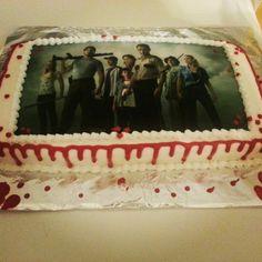 Walking Dead Cake  Ideas cakepins.com