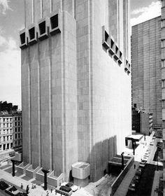 John Carl Warnecke and Associates: New York Telephone Company Equipment Building, New York, 1966