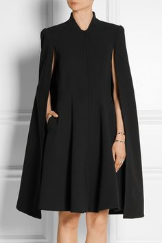 Gareth Pugh : Cape-back cady dress                                                                                                                                                                                 More