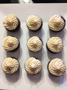 Mexican Hot Chocolate Cupcakes with Cinnamon Cream Cheese Frosting