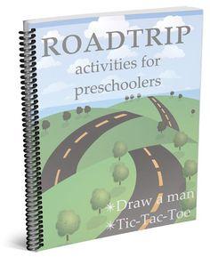 Road trip activities for preschoolers. Download these fun games today!!!