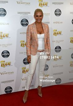 News Photo: Yolanda Foster arrives at HSN Live broadcast special…