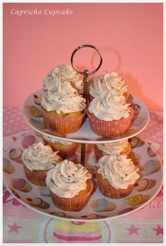 cupcakes de kinder chocolate