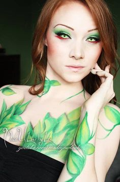 Poison Ivy :) really like this but think it might be the contacts that are giving it the wow factor.