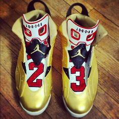 61ddd12fdec5 Must See  Customized Air Jordan 11s of a Recently Married Basketball ...