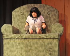 """Lucy Van Pelt, played by Shannyn Rinker Notre Dame High School Theatre Company ,""""You're A Good Man, Charlie Brown."""