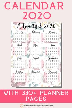 The best mom planner organizer for you is here! The Momtastic Planner 2020. Includes a beautiful wall calendar and over 330 printable pages. Gorgeous and practical to use. The mom planner to keep busy moms well organized for the new year! Planner Board, Mom Planner, Planner Tips, Planner Layout, Planner Pages, Happy Planner, Year Planner, Budget Planner, Monthly Planner