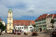 Bratislava Old Town- could stay I. Vienna and make a day trip out of it?
