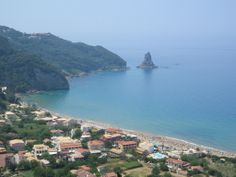 Ermones - a rather unknown place on the Greek island #Corfu