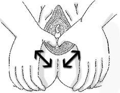 Perineum massage: because who really wants to tear or have to be cut down there.