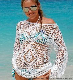 Crochet'd Bikini cover up