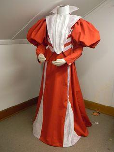 1900's Gibson Girl Dress