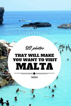 20 Photos of Beautiful Malta. Contact CCI about your English… 20 Photos of Beautiful Malta. Contact CCI about your English study trip to Malta! Voyage Europe, Europe Travel Guide, Travel Guides, Budget Travel, Places To Travel, Travel Destinations, Places To Visit, Malta Vacation, Cruise Vacation