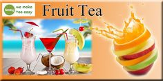 Fruit tea has an incredible revitalizing effect and is excellent for keeping the energy flowing throughout the afternoon. Fruit Tea, Pudding, The Incredibles, Desserts, How To Make, Food, Tailgate Desserts, Deserts, Puddings