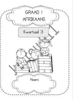 Oulike drukbare werkboekies | Afrikaanse Hulpmiddels vir die Klaskamer Afrikaans, Little Ones, Place Card Holders, Lettering, Angel, Drawing Letters, Toddlers, Brush Lettering