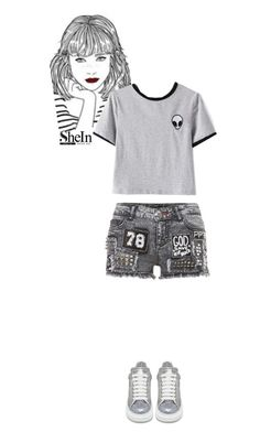 """Untitled #589"" by veronica7777 ❤ liked on Polyvore featuring Alexander McQueen"