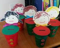 Κουμπαράδες Autumn Crafts, Preschool Ideas, Snoopy, Fictional Characters, Art, Children Ministry, Art Background, Kunst, Performing Arts