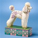 Genevieve-Poodle Figurine from  - Jim Shore Store