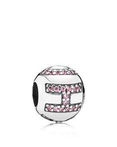 Pandora Charm - Sterling Silver & Cubic Zirconia Surrounded by Hope, Moments Collection
