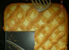 Recept Mřížkový koláč s tvarohem Waffles, Pineapple, Cooking Recipes, Pie, Baking, Fruit, Breakfast, Tableware, Desserts