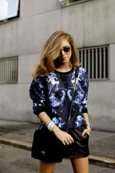 Chiara Ferragni wearing the Carrera by Jimmy Choo sunglasses