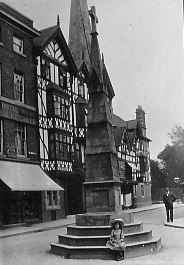 Pride Hill cross Shrewsbury England, Medieval Town, Britain, Christmas Diy, Beautiful Places, The Past, World, Building, Wales