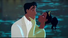 In the end Tiana realizes there is more to life than work and setting goals. Description from fanpop.com. I searched for this on bing.com/images