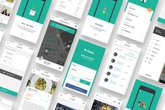 "Check out this @Behance project: ""Complete iOS ui kit for delivery app"" https://www.behance.net/gallery/49765601/Complete-iOS-ui-kit-for-delivery-app"