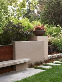 Contemporary Gardens Design, Pictures, Remodel, Decor and Ideas -
