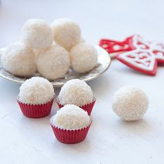 White Chocolate Truffles - (homemade christmas gifts)