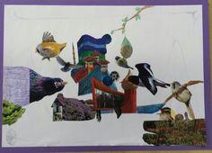 Collage Architectuur Painting, Art, Painting Art, Paintings, Kunst, Paint, Draw, Art Education, Artworks