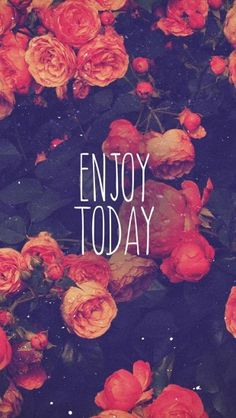 Enjoy Today Red Rose #iphone #wallpaper