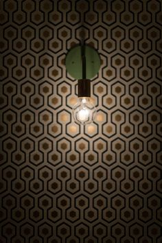lighting and wallpaper perfection.