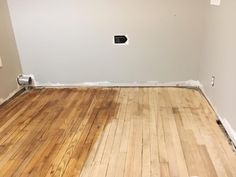 How We Refinished Our Old Wood Floors In 6 Hours – Two Paws Farmhouse Shiplap Wall Diy, Old Wood Floors, Home Renovation, Diy Bathroom Remodel, Old Wood, Flooring, Refinish Wood Floors, Refinished, Renovations