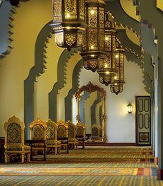 Recepción del salón Aida, Cairo Marriott Hotel & Omar Khayyam Casino