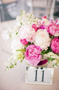 pink wedding flowers | Pink and White Wedding Flowers « Petalena: Creative Designs for ...