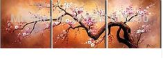 painting cherry blossom - Google Search