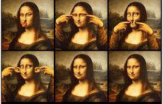 Medicina da Alma: Releituras de Mona Lisa 1: Versão Psiquiátrica