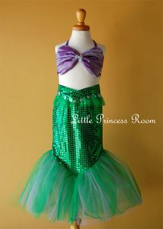 Little mermaid costume for birthday party