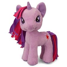 "MY LITTLE PONY TWILIGHT SPARKLE 5"" Plush"