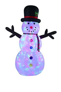 New 8 FT Inflatable Happy Flashing Snowman With Disco Lights Christmas Xmas Decoration -- Read much more testimonials of the item by checking out the web link on the picture. (This is an affiliate link). Outdoor Gardens, Indoor Outdoor, Outdoor Decor, Christmas Inflatables, Disco Lights, Outdoor Christmas Decorations, Shop Usa, Snowman, Christmas Tree