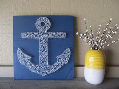 bonitos disenos de cuadros con clavos e hilos para decorar tu hogar