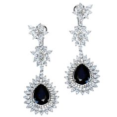 Classic Blue Drop Danglings  Product Code : ADERL1400023    Type : Blue Hydro, Swarovski  Color : Blue  #SilverEarringsOnlineShopping  #SilverEarringsOnlineIndia  #SilverEarringsIndia    #SilverEarringsOnline  #BuySilverEarringsOnline  #SilverEarringsForWomen  #SilverEarring #DesignerSilverEarrings  #BuySilverEarrings  #SilverEarrings  #Earrings