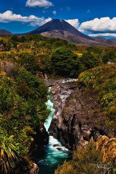 Mt Ngaruahoe, Central Plateau, North Island, New Zealand